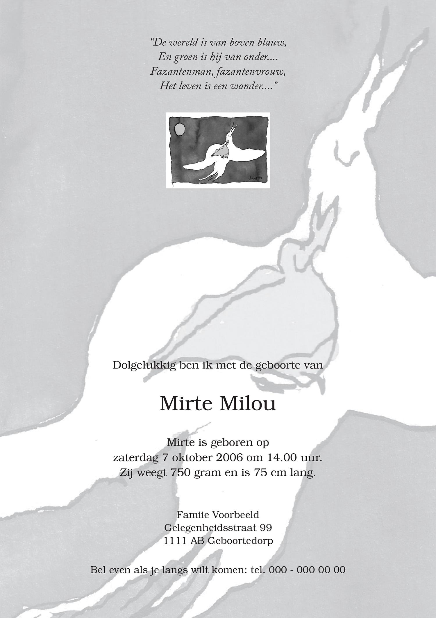 Geboortekaartje Mirte-2